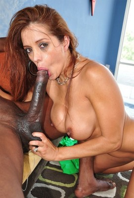 Francesca Le doing what she does best sucking cock.