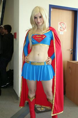 Lovely Supergirl.