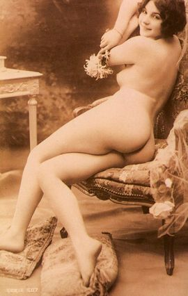Circa 1890s Paris, from the vintage nudes