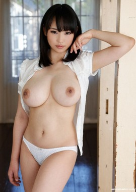 Asian girl with huge breasts