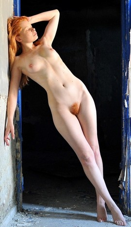 Small tits, but I just love red hair pussy!.