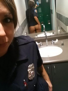 Hot police.
