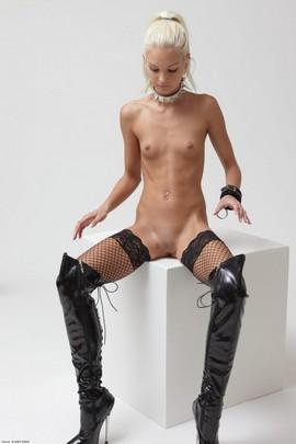 Tiny tits sex slave.