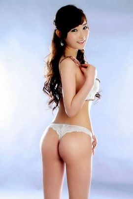 Sexy asian Girls With White Lingeries.