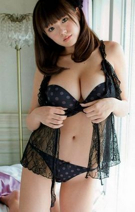 amazing asian big boobs lingerie in a incredible panties pic.